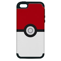 Let s Catch  Em All! Apple iPhone 5 Hardshell Case (PC+Silicone) by ContestDesigns