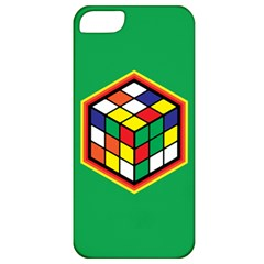 Colorful Cube, Solve It! Apple Iphone 5 Classic Hardshell Case by ContestDesigns