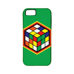 Colorful Cube, Solve It! Apple Iphone 5 Classic Hardshell Case (pc+silicone) by ContestDesigns