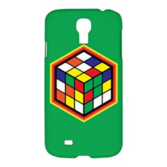 Colorful Cube, Solve It! Samsung Galaxy S4 I9500/i9505 Hardshell Case by ContestDesigns