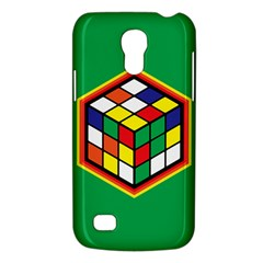 Colorful Cube, Solve It! Samsung Galaxy S4 Mini Hardshell Case  by ContestDesigns