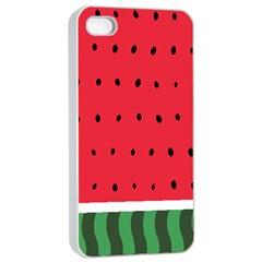 Watermelon! Apple Iphone 4/4s Seamless Case (white) by ContestDesigns