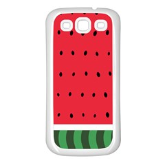Watermelon! Samsung Galaxy S3 Back Case (white) by ContestDesigns