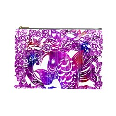 Form Of Auspiciousness Cosmetic Bag (large) by doodlelabel