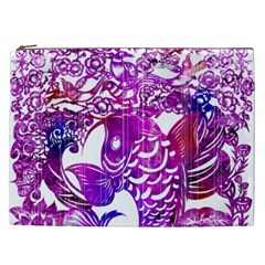 Form Of Auspiciousness Cosmetic Bag (xxl) by doodlelabel