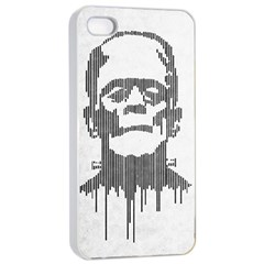 Monster Apple Iphone 4/4s Seamless Case (white) by Contest1732468
