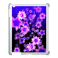 Midnight Forest Apple Ipad 3/4 Case (white) by doodlelabel