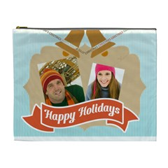 Merry Christmas By Merry Christmas   Cosmetic Bag (xl)   Svttnzn3f3e3   Www Artscow Com Front