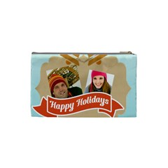 Merry Christmas By Merry Christmas   Cosmetic Bag (small)   Jmnxcm9wmenl   Www Artscow Com Back