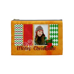 Merry Christmas By Merry Christmas   Cosmetic Bag (medium)   04s93fh68igz   Www Artscow Com Front