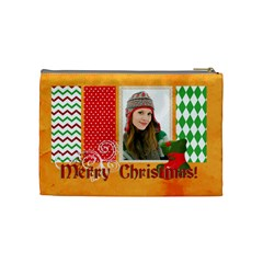 Merry Christmas By Merry Christmas   Cosmetic Bag (medium)   04s93fh68igz   Www Artscow Com Back