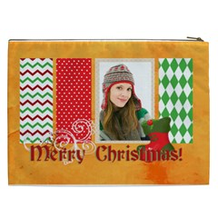 Merry Christmas By Merry Christmas   Cosmetic Bag (xxl)   K6hpko13kigh   Www Artscow Com Back