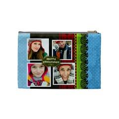 Merry Christmas By Merry Christmas   Cosmetic Bag (medium)   Ovezn4hmpykn   Www Artscow Com Back