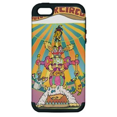 Monster Circus Apple Iphone 5 Hardshell Case (pc+silicone) by Contest1731890