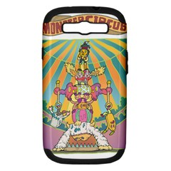 Monster Circus Samsung Galaxy S Iii Hardshell Case (pc+silicone) by Contest1731890