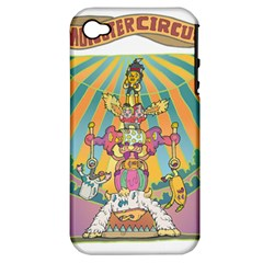 Monster Circus Apple Iphone 4/4s Hardshell Case (pc+silicone) by Contest1731890