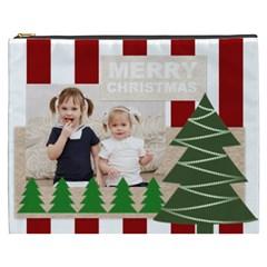 Merry Christmas By Joely   Cosmetic Bag (xxxl)   Jkol25rdgjtu   Www Artscow Com Front