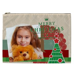Merry Chsristmas By Joely   Cosmetic Bag (xxl)   M8p4pv46avox   Www Artscow Com Front
