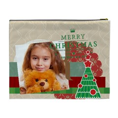 Merry Christmas By Joely   Cosmetic Bag (xl)   Gz9z45wxzny0   Www Artscow Com Back