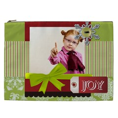 Merry Chsristmas By Joely   Cosmetic Bag (xxl)   Cmx6h58vjrtr   Www Artscow Com Front