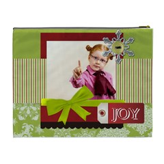 Merry Christmas By Joely   Cosmetic Bag (xl)   Pktnl570xzpp   Www Artscow Com Back