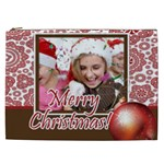 merry christmas - Cosmetic Bag (XXL)
