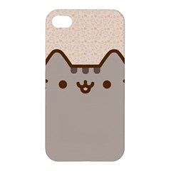 Cute Cat Apple Iphone 4/4s Premium Hardshell Case by Contest1747934