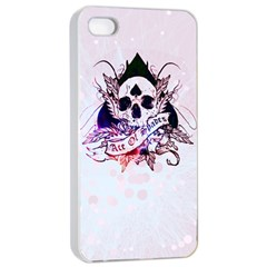 Ace Of Spades Apple Iphone 4/4s Seamless Case (white) by TheTalkingDead