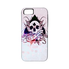 Ace Of Spades Apple Iphone 5 Classic Hardshell Case (pc+silicone) by TheTalkingDead