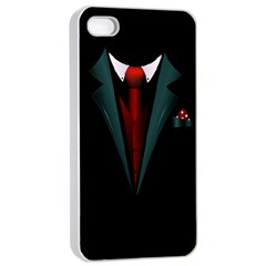 All Dressed Up And No One To Call Apple Iphone 4/4s Seamless Case (white) by TheTalkingDead