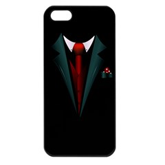 All Dressed Up And No One To Call Apple Iphone 5 Seamless Case (black) by TheTalkingDead