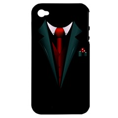 All Dressed Up And No One To Call Apple Iphone 4/4s Hardshell Case (pc+silicone) by TheTalkingDead