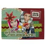 merry christmas - Cosmetic Bag (XXL)