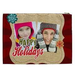 Merry Christmas By Merry Christmas   Cosmetic Bag (xxl)   6age1wbanrnf   Www Artscow Com Back