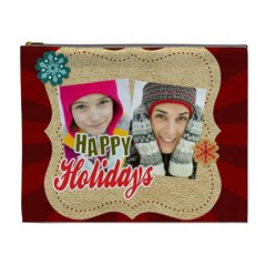 Merry Christmas By Merry Christmas   Cosmetic Bag (xl)   Cty2ugyxudgr   Www Artscow Com Front