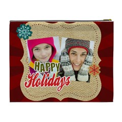 Merry Christmas By Merry Christmas   Cosmetic Bag (xl)   Cty2ugyxudgr   Www Artscow Com Back