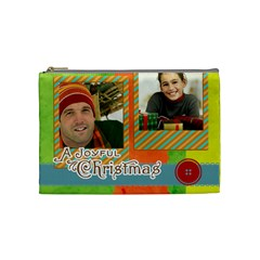 Merry Christmas By Merry Christmas   Cosmetic Bag (medium)   Xt6aywu7wa34   Www Artscow Com Front