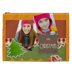 Merry Christmas By Merry Christmas   Cosmetic Bag (xxl)   Qex9nzs0xdw1   Www Artscow Com Front