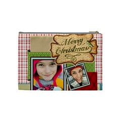 Merry Christmas By Merry Christmas   Cosmetic Bag (medium)   1yd2k7g4bzy3   Www Artscow Com Back