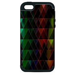 Color Apple Iphone 5 Hardshell Case (pc+silicone) by ILANA