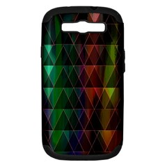 Color Samsung Galaxy S Iii Hardshell Case (pc+silicone) by ILANA