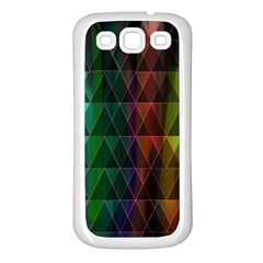 Color Samsung Galaxy S3 Back Case (white) by ILANA