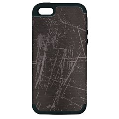 Rough Use Apple Iphone 5 Hardshell Case (pc+silicone) by Contest1736471