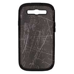 Rough Use Samsung Galaxy S Iii Hardshell Case (pc+silicone) by Contest1736471