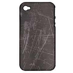 Rough Use Apple Iphone 4/4s Hardshell Case (pc+silicone) by Contest1736471