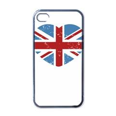 Union Love Vintage Case  Apple Iphone 4 Case (black) by Contest1778683