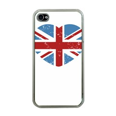 Union Love Vintage Case  Apple Iphone 4 Case (clear) by Contest1778683