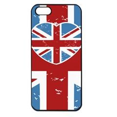 Union Love Vintage Case Design Apple Iphone 5 Seamless Case (black) by Contest1778683