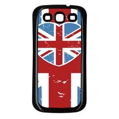 Union Love Vintage Case Design Samsung Galaxy S3 Back Case (black) by Contest1778683
