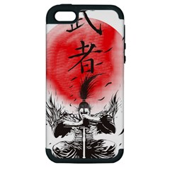 The Warrior Apple Iphone 5 Hardshell Case (pc+silicone) by DesignsbyReg2